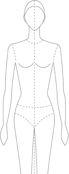 female-closeup design template